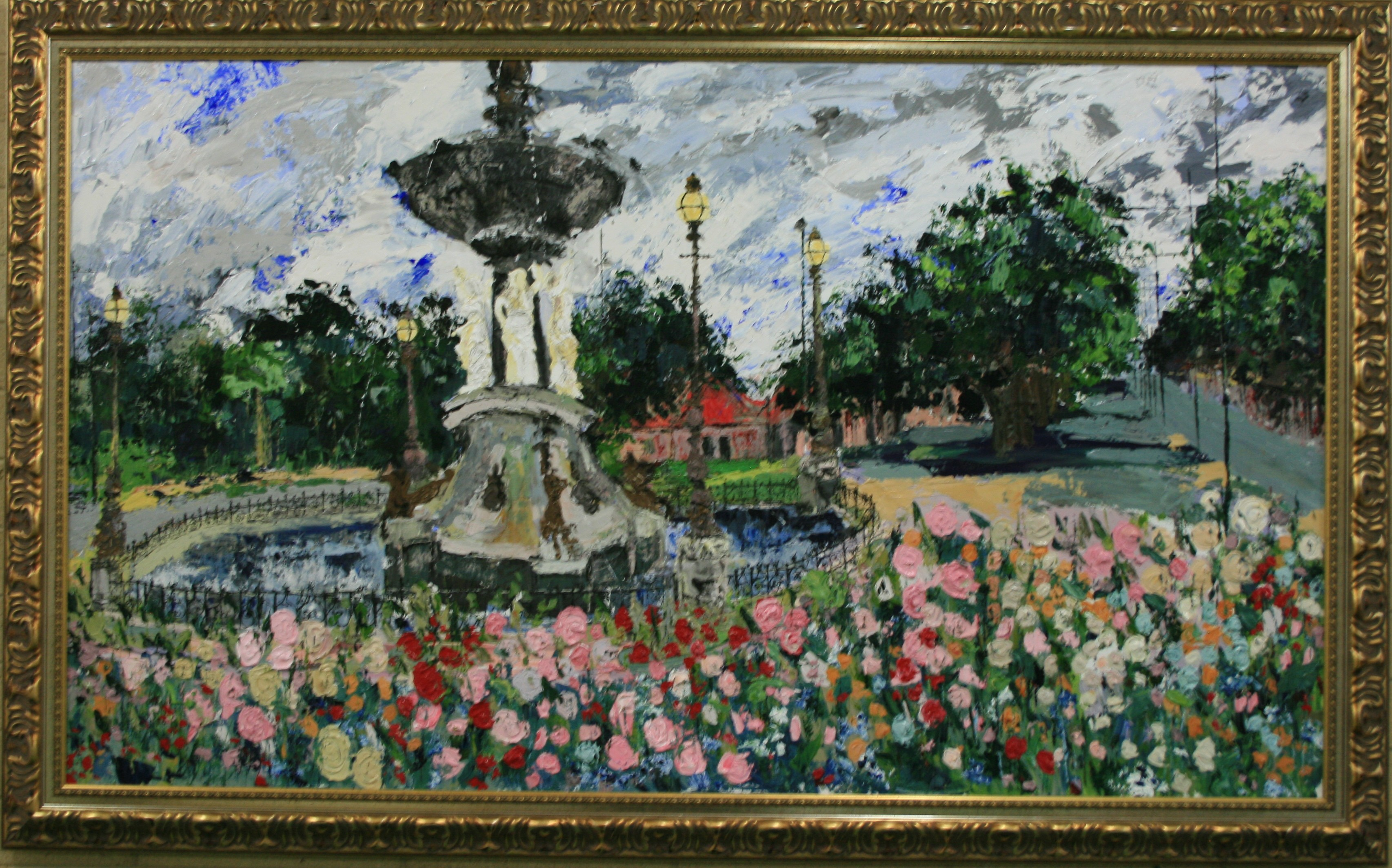PLs013 'Alexandra Fountain 2' 125x230 $9500